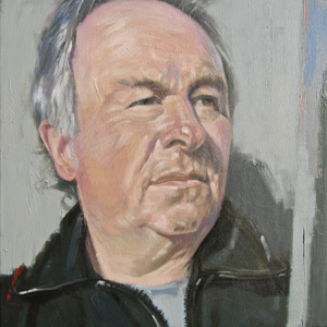 Self-Portrait of artist Gary Long